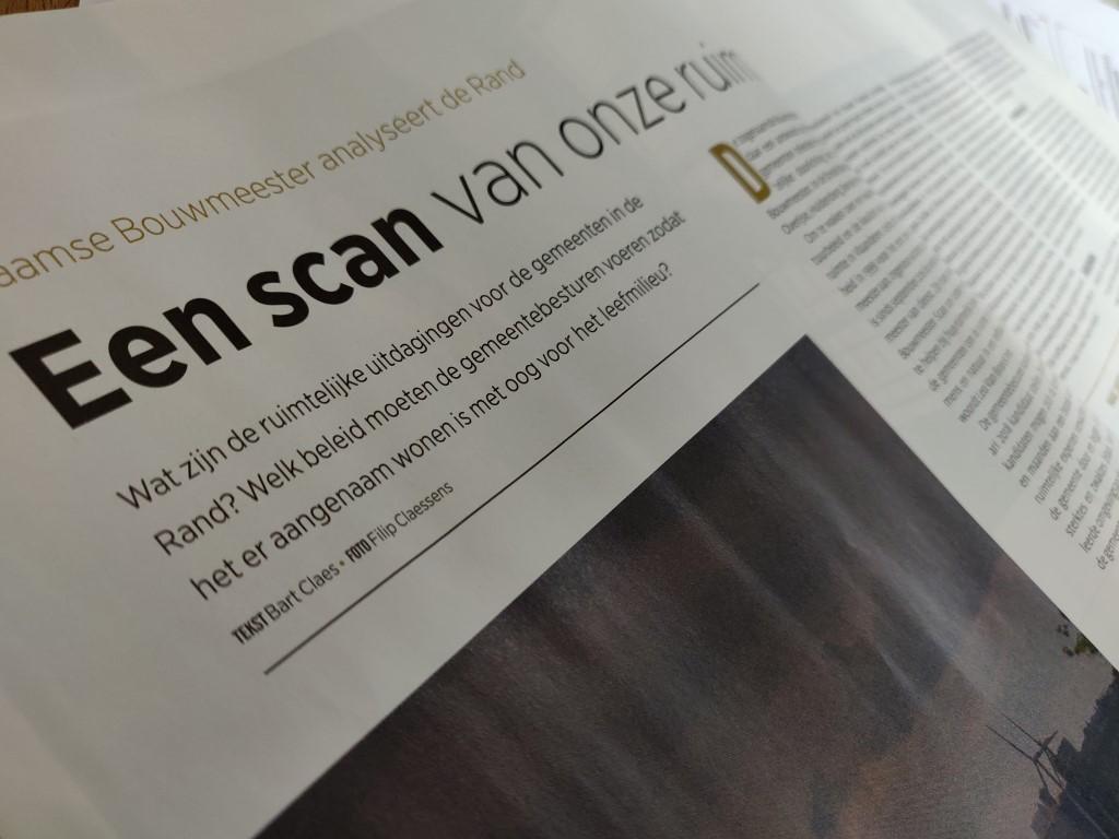 Reportage: De Vlaamse Bouwmeester analyseert de Rand