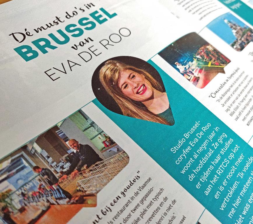 Wartaal trok met Eva De Roo op stap door Brussel