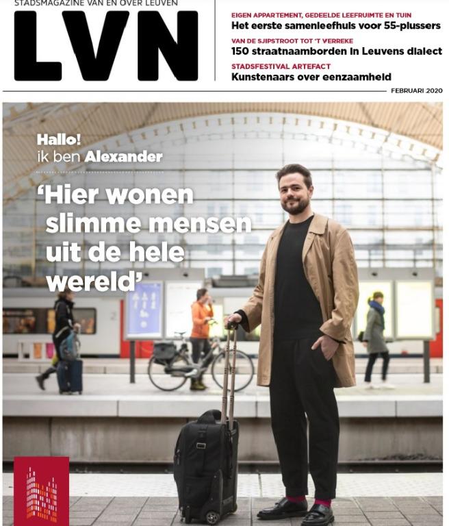 Het stadsmagazine van en over Leuven. Drie reportages.
