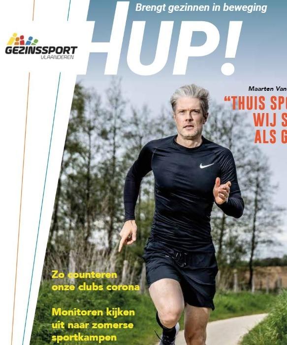 Het nieuwe magazine van Gezinssport Vlaanderen